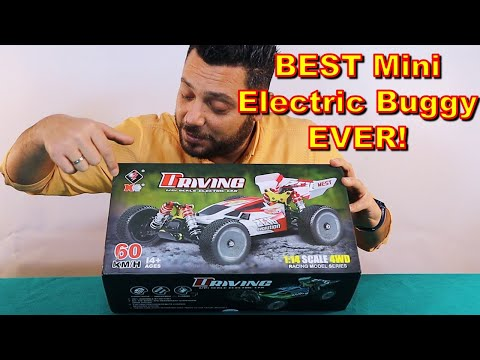 Racing Level 1/14 RC Buggy Car - Wltoys 144001 Unboxing, Review & Top Speed Test