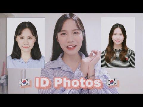CHỤP ẢNH THẺ SIÊU ẢO TẠI HÀN QUỐC|??ID photo makeup|DU HỌC SINH HÀN QUỐC ♡ Rin Go