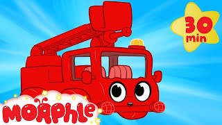 My Red Fire Truck  My Magic Pet Morphle Videos For Kids