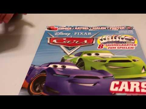 Cars Zeitschrift beim SpielzeugTester - Julian