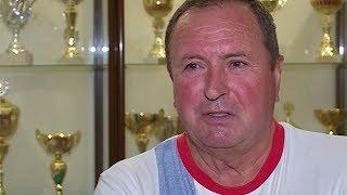 Заслуженный тренер СССР и России по гандболу Юрий Зайцев отмечает свой юбилей