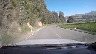 preview picture of video 'Landscape When Back From Akaroa New Zealand @ 12th Oct 2014 by GoPro Hero4 black'