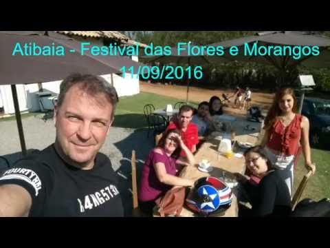 Festival das Flores e Morango em Atibaia/SP em 11/09/2016