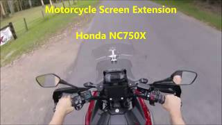 Motorcycle Screen Extension Review