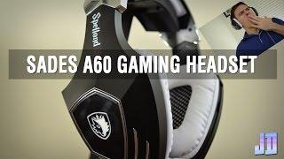 SADES A60 Gaming Headset Review - Tech Gear