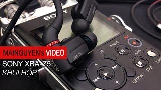 Khui hộp Tai Nghe Sony XBA-Z5 - www.mainguyen.vn