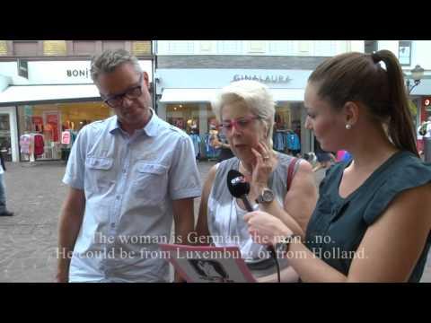 Hochzeitsvideo für das Brautpaar - City Interview in Trier 2014