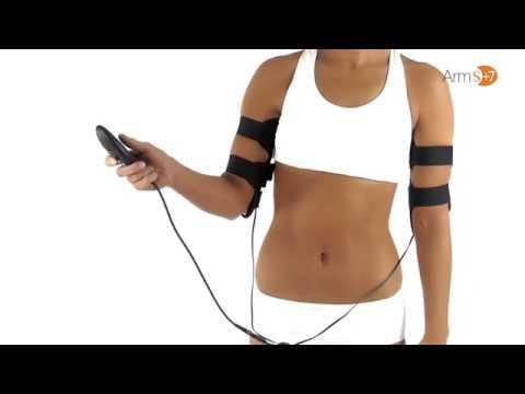 Slendertone Armtrainer für Damen - wie es funktioniert