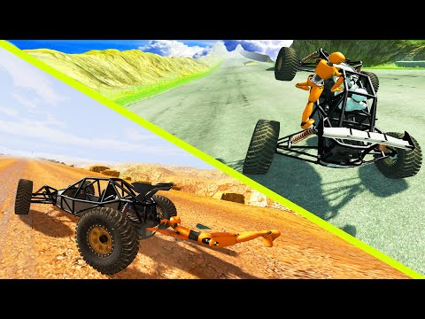 New DSC Scarab Crash Testing with Dummy - BeamNG Drive | CrashTherapy