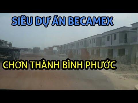 Tiến độ dự án BECAMEX Minh Thành,Chơn Thành, Bình Phước 12/03/2019