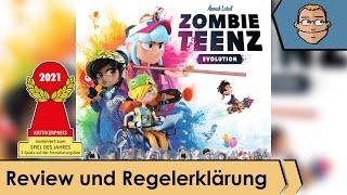 Zombie Teenz Evolution - (nominiert zum Spiel des Jahres 2021) – Review und Regelerklärung