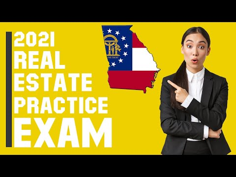 Georgia Real Estate Exam 2021 (60 Questions with Explained ...