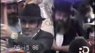 New Footage: Siyum Sefer Torah Hakloli - Beis Rivkah | Isru Chag Shavuos, 5746