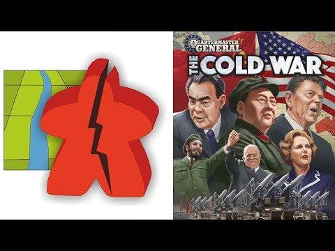 The Broken Meeple - Quartermaster General: The Cold War Review