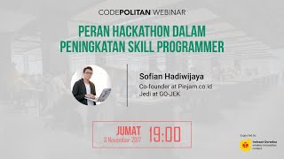 Peran Hackathon dalam Peningkatan Skill Programmer