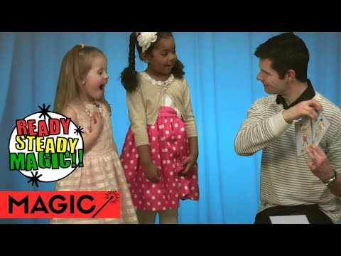 Kids Three Card Monte Magic Game | Big Centre TV S2.E2 | Ready Steady Magic