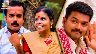 Singing in Theri Was a Blessing For Us : Vaikom Vijayalakshmi & Husband Interview   En Jeevan Song