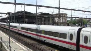 preview picture of video 'Trafic ferroviaire à Olten - partie 1'
