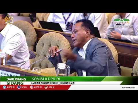 LIVE STREAMING - Komisi II DPR RI Rapat Kerja Menteri PANRB dan RDP dengan BKN, KASN
