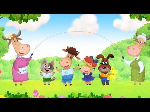 Бурёнка Даша. Лето | Песни для детей