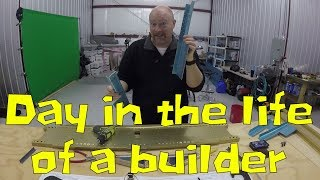 RV-10 Fuselage - A Day in the Life of a Builder