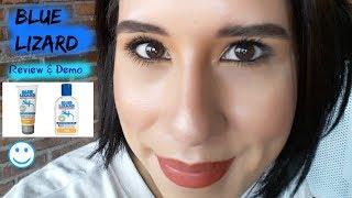 Blue Lizard Australian Sunscreen For The Face SPF 30+ (Review & Demo) #bluelizard