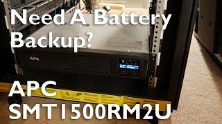 Need A Battery Backup? | APC SMT1500RM2U