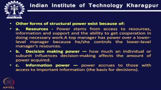 Mod-01 Lec-26 Power and Politics