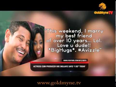 GOLDMYNETV: ACTRESS CUM PRODUCER, IVIE OKUJAYE SAYS I DO!