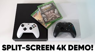 Xbox One X vs One S Demo! SEE THE DIFFERENCE!