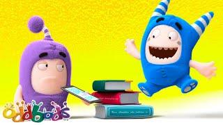 Bookworm Loves Tales | Oddbods | BARU | Kartun Lucu Untuk Anak