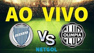 GODOY CRUZ VS OLIMPIA EN VIVO - COPA LIBERTADORES 2019 - 05.03.2019