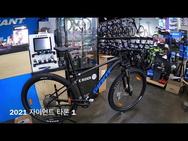 Видео Велосипед Giant Talon 1 Black