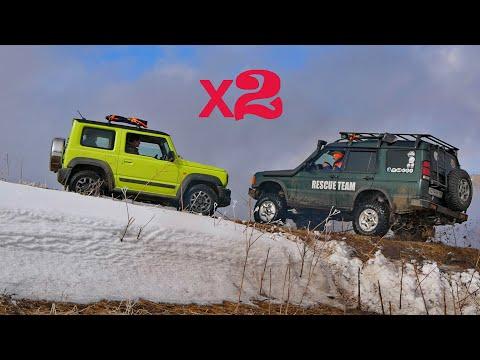 Suzuki Jimny и 27 внедорожников сквозь снежные перемёты (ч.2) - Масленица пришла!