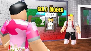 He Kidnapped A GOLD DIGGER for Revenge, I Had To BREAK HER OUT! (Roblox)