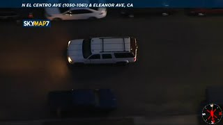 LIVE: Police chase vehicle on surface streets in Hollywood