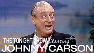 Rodney Dangerfield Almost Makes Carson Fall Out of His Chair Laughing