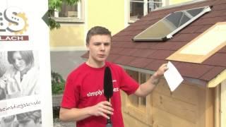 preview picture of video 'PTS Köflach  Konstruktion und Bau eines Spielhaus'