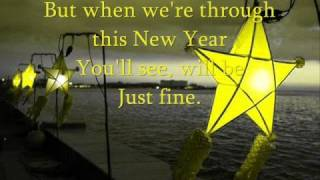 It's just another New Years eve - Barry Manilow
