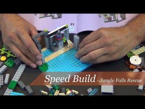 Vidéo LEGO Friends 41033 : Sauvetage dans les cascades de la jungle