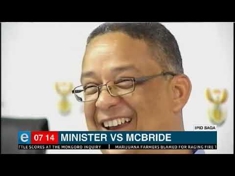 Minister vs McBride