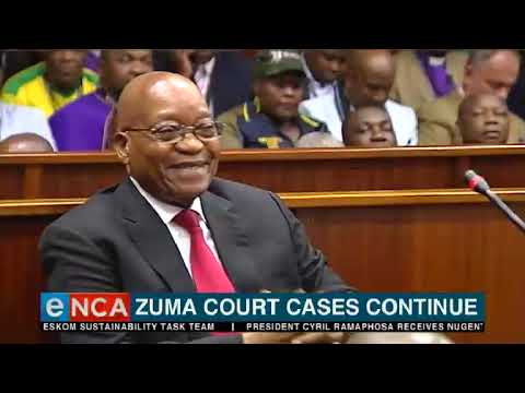 Zuma court cases continue
