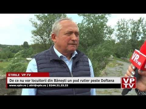 De ce nu vor locuitorii din Bănești un pod rutier peste Doftana