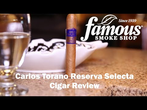 Carlos Torano Reserva Selecta video