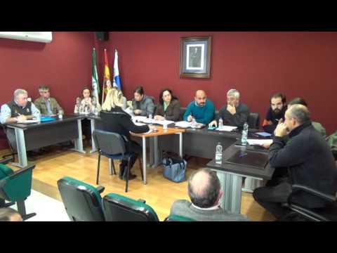 Pleno 15 diciembre 2015 Cájar, Granada