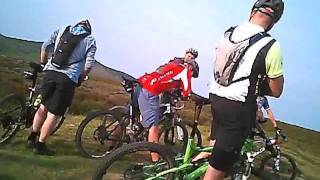 Mountain Biking Long Mynd - Minton Hill