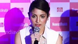 Anushka Sharma about her fitness