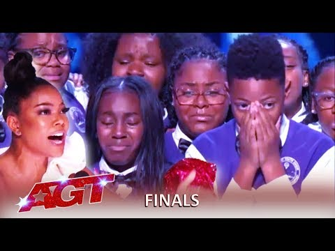 Detroit Youth Choir: WOW Final Perfomane Does City Of Detroit Proud! | America's Got Talent 2019