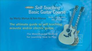 alfred 39 s self teaching basic guitar course guitar book cd dvd. Black Bedroom Furniture Sets. Home Design Ideas