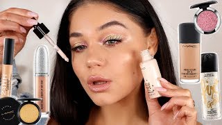 FULL FACE OF MAC COSMETICS 2019   One Brand Makeup Look   Blissfulbrii